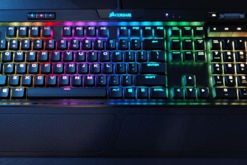 Our favorite low profile mechanical keyboard, Corsair's K70 MK.2, is nearly half off today