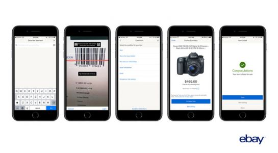EBay's mobile app can now fill out your listings for you