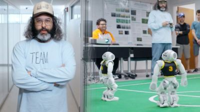 Judah Vs. The Machines: Robots are still laughably awful at playing soccer