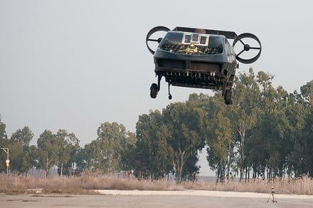 VTOL drone can evacuate wounded soldiers and disaster victims, deliver cargo