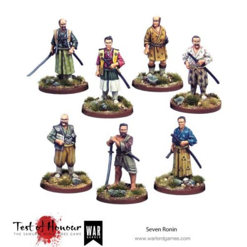 Seven Ronin Set Available To Pre-Order For Test of Honour