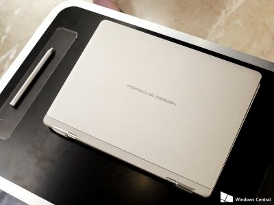 Hands-on with the luxury Porsche Design Book One Windows 10 PC