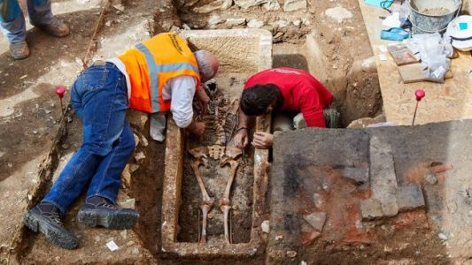 7th-Century Skeleton From Mysterious Merovingian Era Unearthed in France