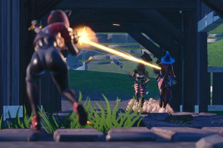Latest 'Fortnite' update channels Halo with a scoped revolver