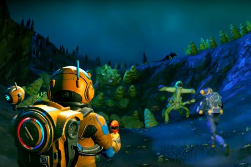 Your first look at No Man's Sky's big multiplayer update in action