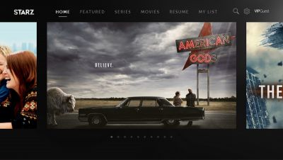 Starz app streams 'American Gods' to your Samsung Smart TV