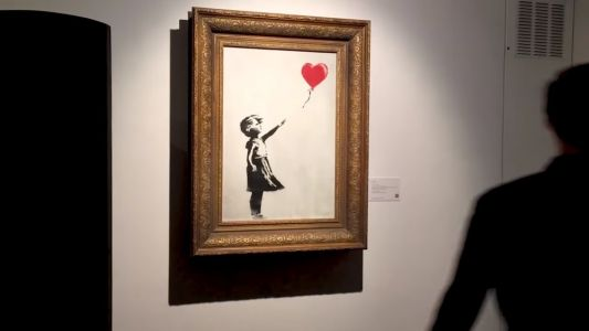 "Banksy Releases ""Director's Cut"" Showing How He Destroyed His Painting at The Auction"