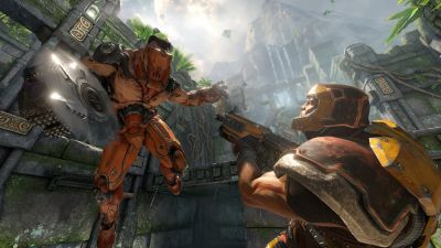 'Quake Champions' isn't finished, but you can play it August 22nd