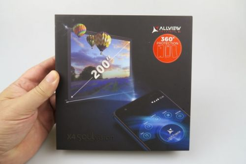 Allview X4 Soul Vision Unboxing: Finally a Projector Phone, After Such a Long While