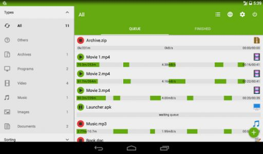 ADM for Android updated with usability improvements