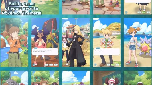 Check Out the New Trailer for POKEMON MASTERS