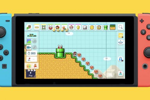 Super Mario Maker 2 is coming to the Nintendo Switch