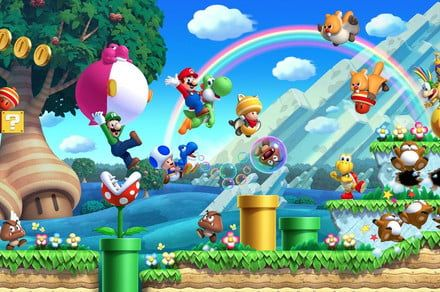 There's a secret character in 'New Super Mario Bros. U Deluxe'