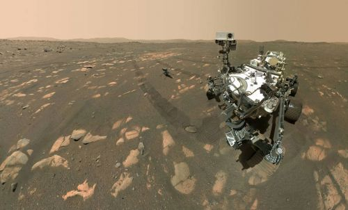 Say cheese on Mars: Perseverance's selfie with Ingenuity