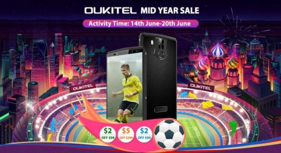 OUKITEL celebrates the start of FIFA World Cup 2018 with some sales offers