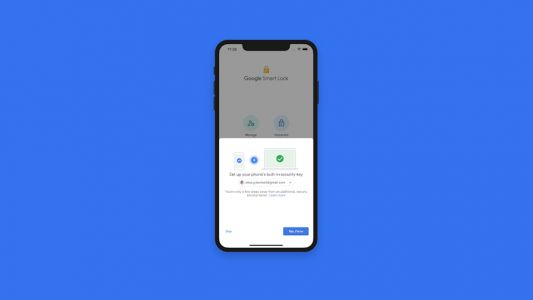 You can now use an iPhone as a security key for Google accounts