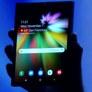 Samsung's foldable phone to be released at 'appropriate' price, display specs and battery life detailed
