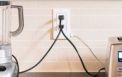 Add two fast-charging USB ports to any wall outlet without messing with a single wire