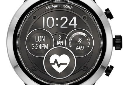 Less glitz, more tech for Michael Kors and its new Access Runway smartwatch