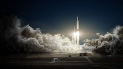 Musk Says Falcon Heavy Rocket Might Explode During First Flight