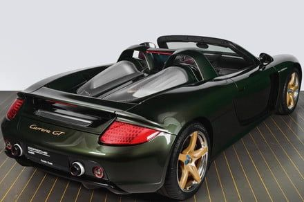 Porsche overhauls a Carrera GT supercar, complete with silver-coated wheels