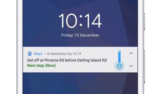 Google Maps now has public transit directions and notifications