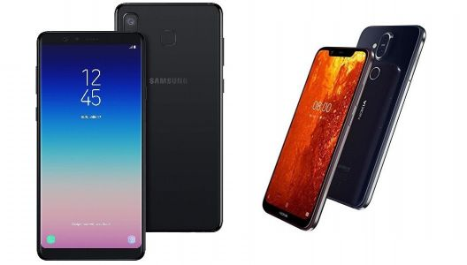 Nokia 8.1 vs Samsung Galaxy A8 Star: Specs, features, & pricing comparison