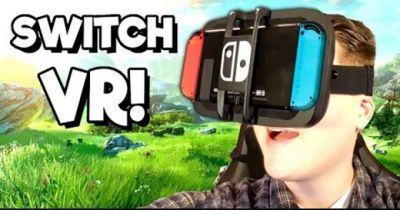 Makeshift Nintendo Switch VR shows why it shouldn't be done