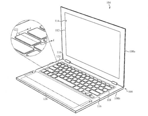 Et si les MacBook avaient un trackpad virtuel redimensionnable ?