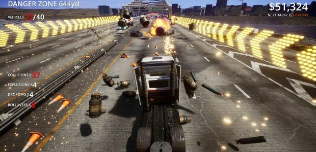 Score attack car-wrecker Danger Zone 2 is out now