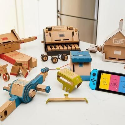 Build unique accessories for the Switch with two Nintendo Labo Kits for $99