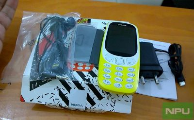 Nokia 3310 (2017) unboxing & first hands-on impressions video