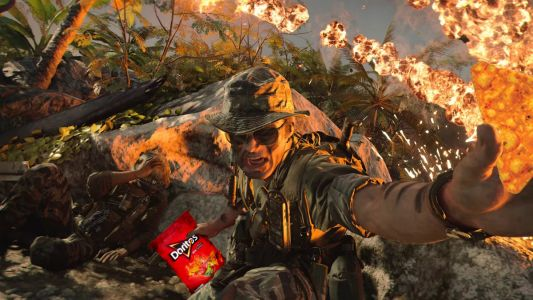 Would you care for a Dorito to dangle from your Call Of Duty gun?