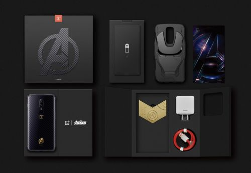 OnePlus 6 Marvel Avengers Limited Edition gets early release in China at around $660