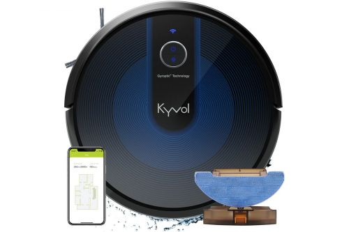 Kyvol Cybovac E31 robot vacuum mop/hybrid review: This automoated cleaner delivers advanced features at a budget price