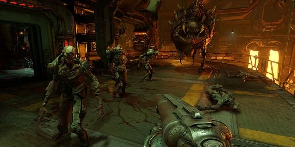Doom For Nintendo Switch Now Has Motion Controls