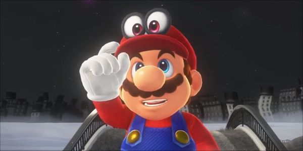 Somebody Beat Super Mario Odyssey Without Jumping