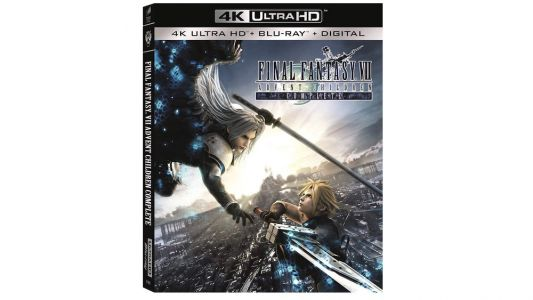 Final Fantasy 7: Advent Children Is Getting A 4K Blu-Ray Release