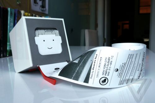 Little Printer returns as an open-source messaging device