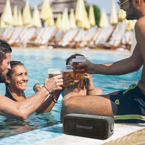 Toss the rugged Force Bluetooth Speaker into the pool for a swim at $15 off