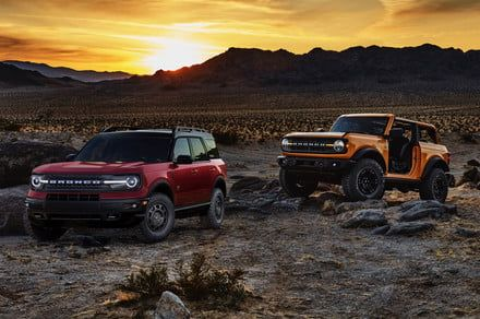 Ford Bronco vs. Ford Bronco Sport