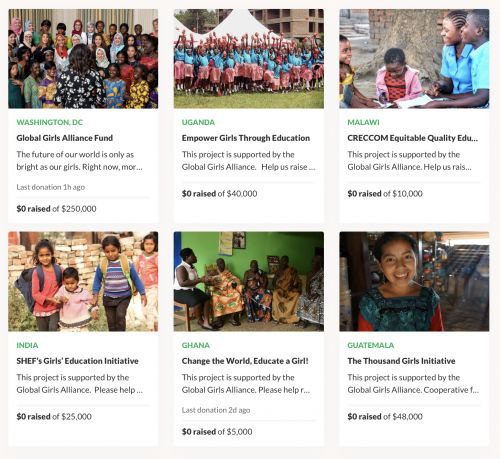 GoFundMe partners with Michelle Obama on the Global Girls Alliance Fund, to back charities helping adolescent girls