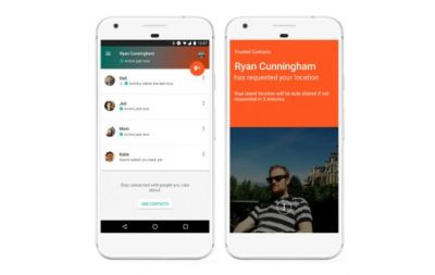 Google Trusted Contacts iOS app goes live:  Android version updated