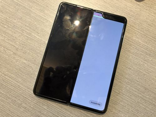Samsung issues statement on the Galaxy Fold screen malfunction