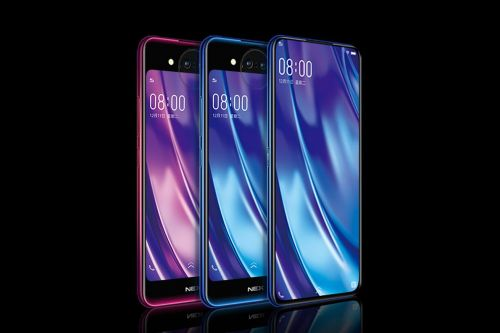 Vivo's new Nex has a second display and 'Lunar Ring' on the back