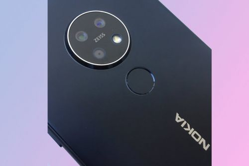 Nokia 7.2 accidentally revealed, confirming circular rear camera design