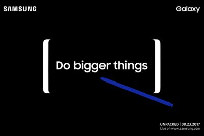 Samsung's next Galaxy Note will be announced on August 23rd