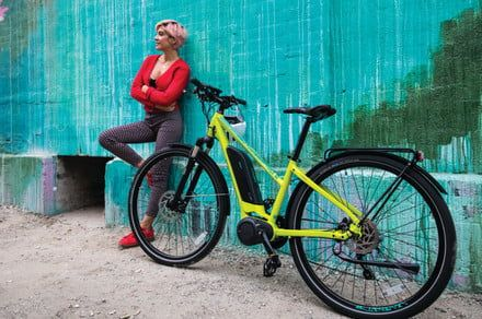 Charge into the new year by taking IZIP's 2018 ebike lineup for a spin
