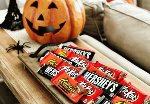 Want to win Halloween? 30-packs of full size chocolate bars are just $14 on Amazon