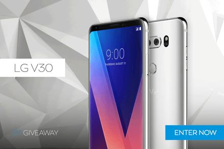 DT Giveaway: We're Giving Away Eight LG V30 Smartphones